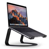 Twelve South Curve til MacBook i matsort bordplade holder til notebooks