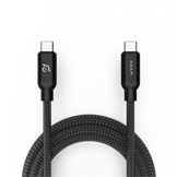 Adam Elements C200 USB-C til USB-C - Opladningskabel i sort på 2 meter