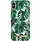 IDeal of Sweden fashion case bagside cover til iPhone XS / X i Monstera jungle