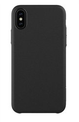 Hitcase Ferra cover til iPhone XS / X - bagside cover i sort læder