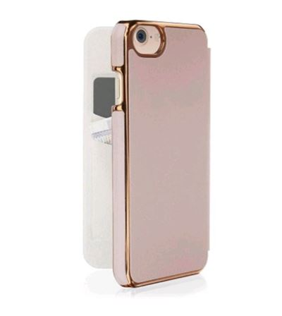 Pipetto Slim Wallet Classic til iPhone 6/7/8 i Rose Gold