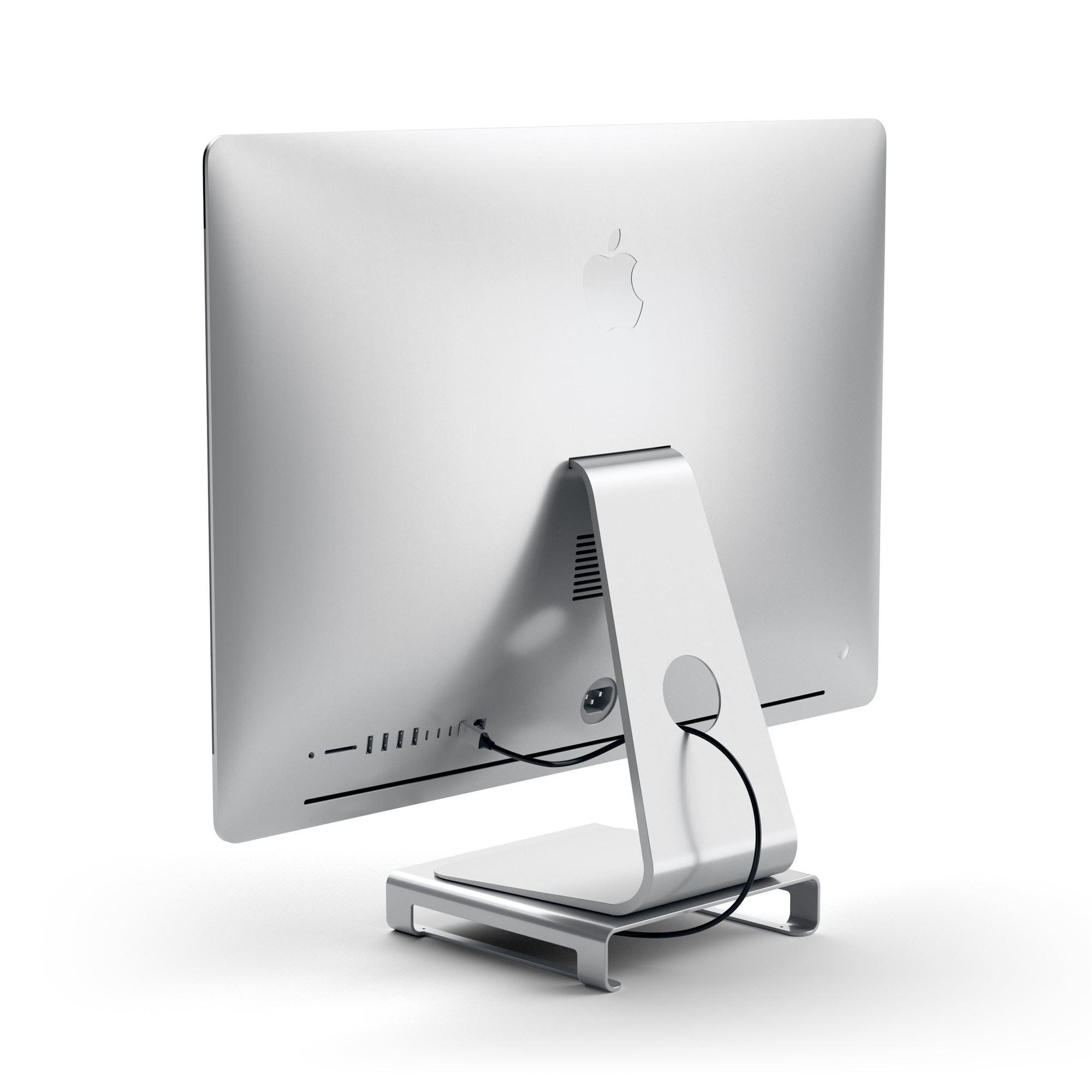 Satechi Type-C Aluminum Monitor Stand Hub til iMac ...