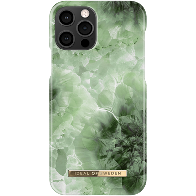 Ideal of Sweden case bagside cover til iphone 12/12 Pro i Crystal Green Sky