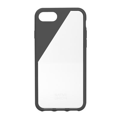 Native Union CLIC Crystal Phone 8 - 7 & 6/6S cover i smoke ramme