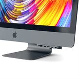Satechi USB-C Clamp Hub Pro i Space Gray - til iMac