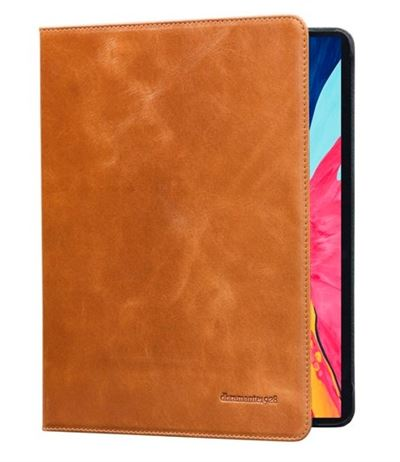 dbramante1928 ipad Pro 12,9 cover i brun skin model Copenhagen - ( Golden tan )