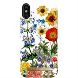 IDeal of Sweden fashion case bagside cover til iPhone XS / X i Flower Meadow