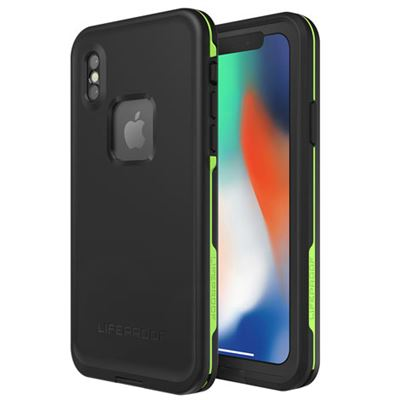 Lifeproof FRĒ vandtæt cover til Iphone X i sort