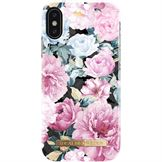 IDeal of Sweden fashion case bagside cover til iPhone XS / X i Peony Garden