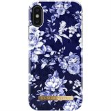 IDeal of Sweden fashion case bagside cover til iPhone XS / X i Sailor Blue Bloom