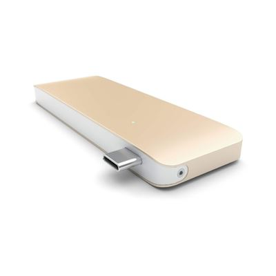 Satechi USB Hub 3-i-1 HUB Kompatibel med MacBook -  Gold