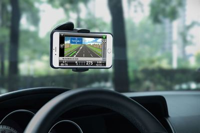 Just Mobile Xtand Go Z1 mobil holder - Verdens smarteste mobil holder til iPhone mv.