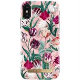 IDeal of Sweden fashion case bagside cover til iPhone XS / X i Vintage Tulips